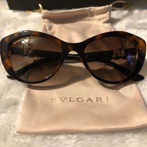 Bvlgari Women's Cat Eye Sunglasses. AUTHENTIC